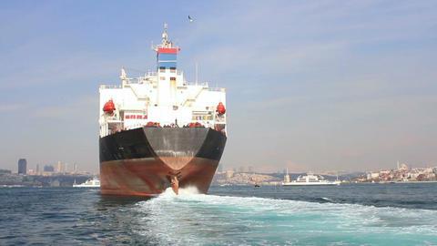 Oil tanker ship Footage