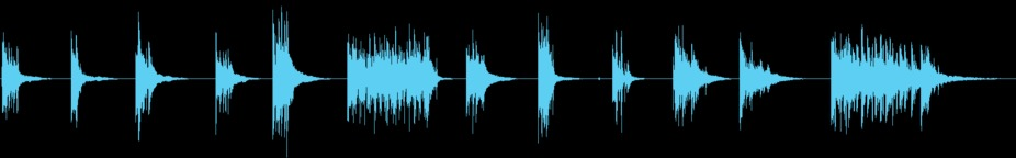 12 Piano Jingles (Ident, Logo) stock footage