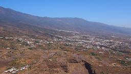 Landscape Of Guimar, Tenerife stock footage
