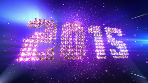 New Year 2015 Background Animation Videos animados