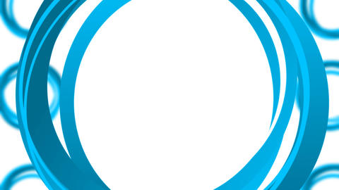Rotating Blue Circles loop 애니메이션
