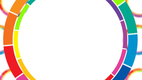 Colorful Circles Loop Animation