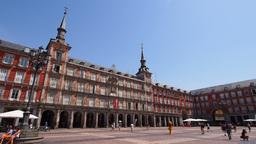 Plaza Mayor in Madrid Footage