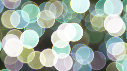 Background With Sparkling Spot Lights Video stock footage
