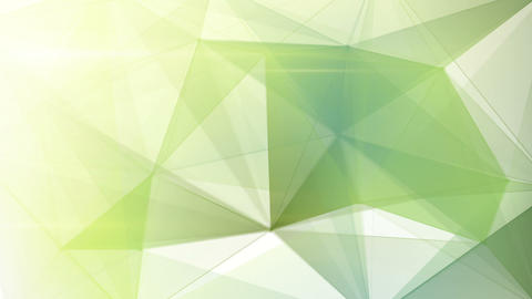 abstract triangle geometrical pale green backgroun Animation