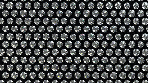 Loopable waving material with diamonds or gems. Al Animation