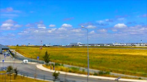 Aircraft Landing in Lisbon Footage