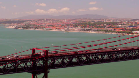 April 25th Bridge Close View Footage