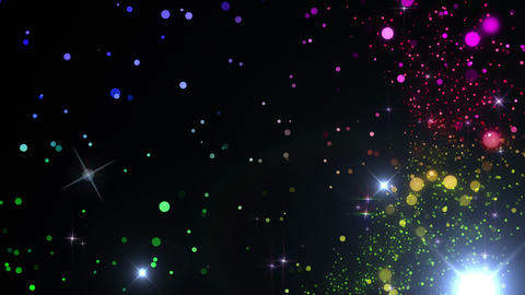 Particles Glitter 3 C R 4 4k 動画素材, ムービー映像素材