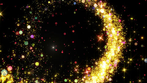 Particles Glitter 3c Y 4 4k Animation