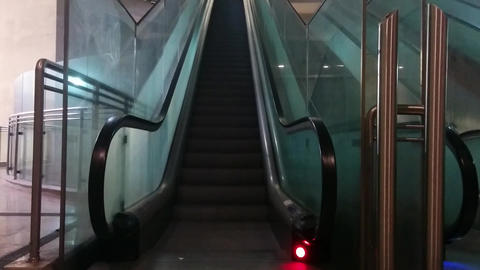 Escalator Footage