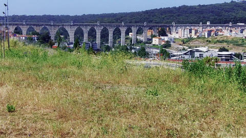 Aqueduct of the Free Waters seen from high grownd Live Action