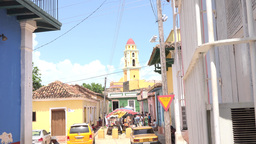 Images Of Trinidad,Cuba stock footage