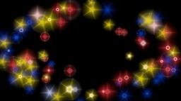 multicoloured lights background Animation