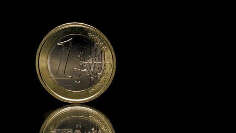 Euro coin Footage
