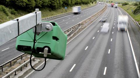 Motorway Timelapse Stock Video Footage