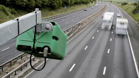 Motorway Timelapse ビデオ