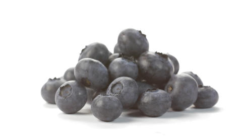 Blueberries rotating Stock Video Footage
