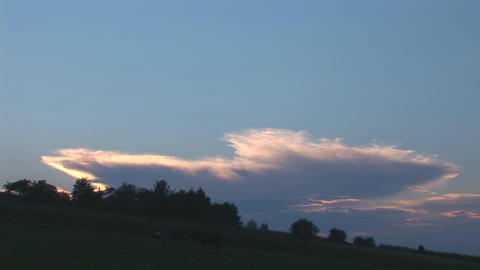 sunset 14 Stock Video Footage