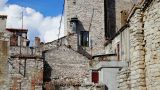 Old Houses In Croatia, Time-lapse stock footage