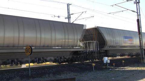Coal Train Stock Video Footage