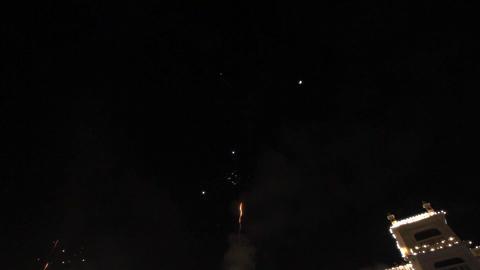 celebratory Fireworks Footage