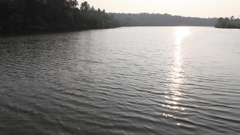 beautiful river Stock Video Footage