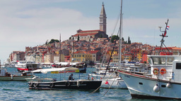 Rovinj city, Croatia Footage