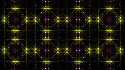LED Light Kaleidoscope C1BoK3 HD Stock Video Footage
