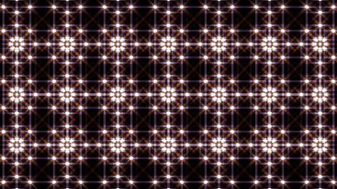 LED Light Kaleidoscope F1BiK2 HD Stock Video Footage