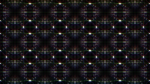 LED Light Kaleidoscope F1Bok1 HD Animation