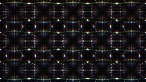LED Light Kaleidoscope F1Bok1 HD Animation