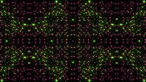 LED Light Kaleidoscope P1BiK4 HD Stock Video Footage