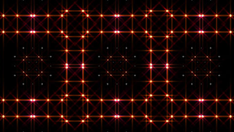 LED Light Kaleidoscope P1BoK2 HD Stock Video Footage