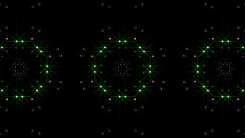 LED Light Kaleidoscope P1BoK4 HD Animation