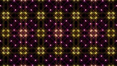 LED Light Kaleidoscope W1BiK4 HD Stock Video Footage