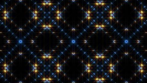 LED Light Kaleidoscope W1BoK2 HD Stock Video Footage