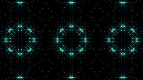 LED Light Kaleidoscope W1BoK4 HD Stock Video Footage