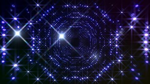 LED Light Space 4 C1Bi2 HD Stock Video Footage