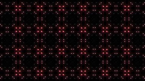 LED Light Kaleidoscope P1BiK2 HD Stock Video Footage