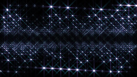 LED Light Space 4 F1Bi2 HD Stock Video Footage