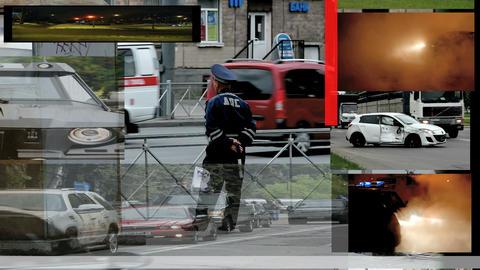 policeman Stock Video Footage