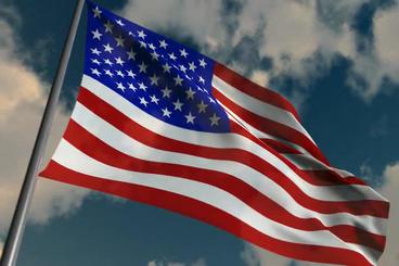 Flag of America FREE THIS WEEK Stock Video Footage
