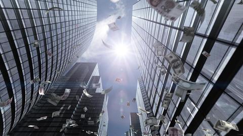 SkyScrayper Fa6 HD Stock Video Footage