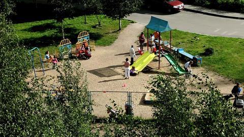 playground Stock Video Footage