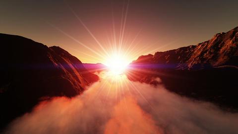 sun rise Stock Video Footage