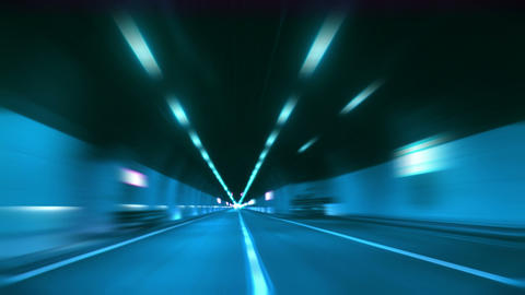 tunnel abstract speed 12 Stock Video Footage