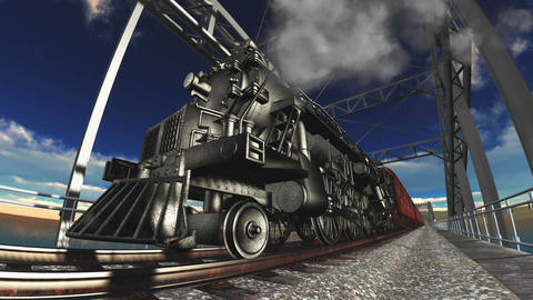 Steam Locomotive 1
