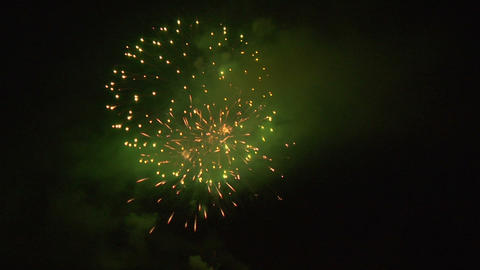 firework 33a Stock Video Footage