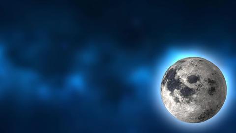 Moon Looping in corner Animation
